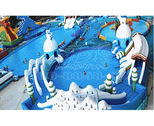 大型充气水上乐园 ,大型充气滑梯 ,水池等水上游艺设备