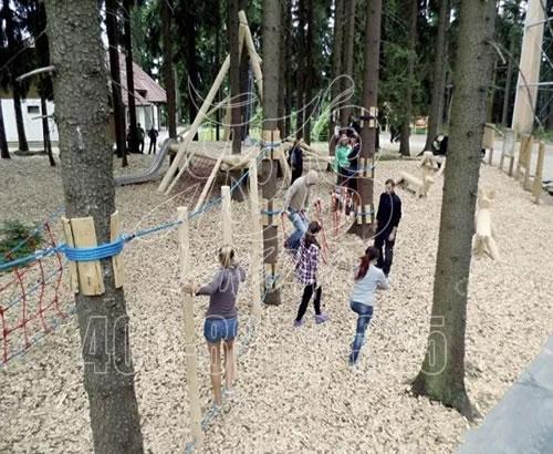 户外儿童大型丛林攀爬探险项目 ,儿童攀爬游乐设备