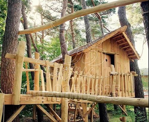 河南厂家直销儿童乐园户外游乐设备,新型游乐设备丛林树屋定制,价格