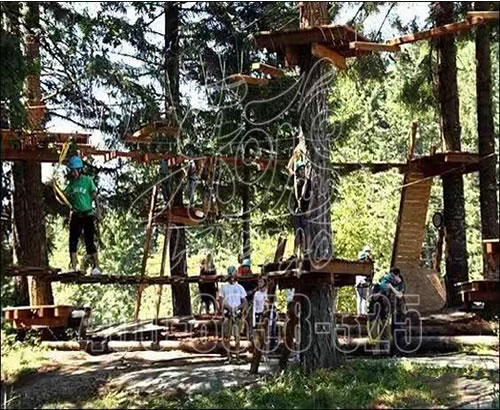 成人儿童户外探险丛林拓展训练设施,室外游乐丛林拓展厂家定制