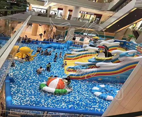 大型淘气堡儿童乐园厂家,室内儿童拓展游乐设备,百万球池定制