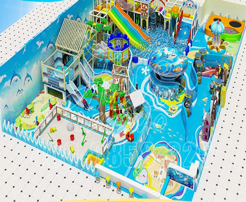 大型淘气堡儿童乐园,室内游乐场设备,幼儿园亲子餐厅设施厂家