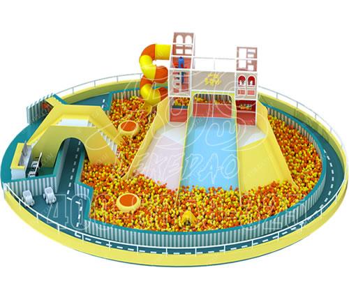 室内大小型儿童淘气堡乐园定做,百万球池淘气堡价格