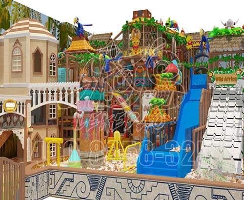 淘气堡儿童乐园,室内游乐园设施,大型游乐场商场设备厂家定做