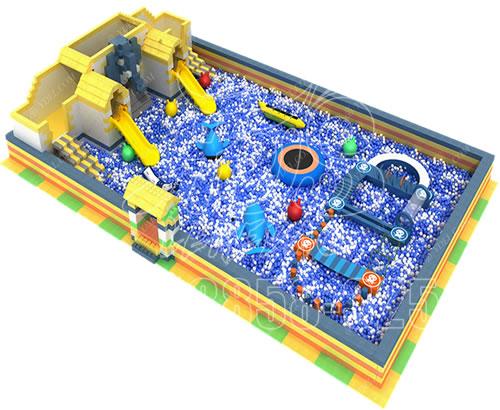 厂家直销新款淘气堡主题乐园,儿童游乐园,室内百万球池游乐设备可定制