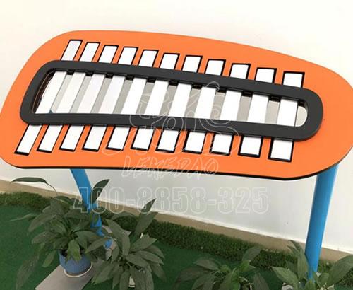 新款户外敲琴,幼儿园公园儿童不锈钢手敲琴打击类乐器厂家