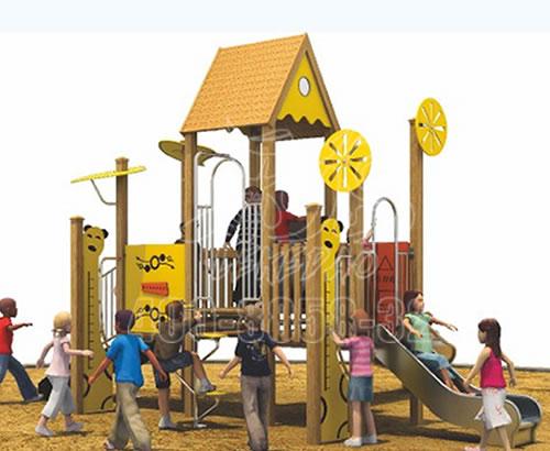 幼儿园户外小区儿童游乐设备,大型滑梯感统器材训练