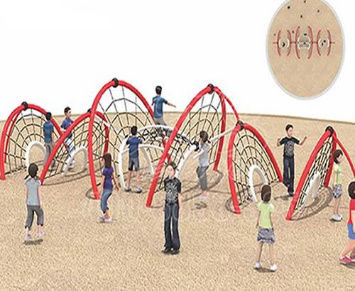 乐可岛儿童户外拓展运动设备 ,儿童户外拓展攀爬网价格