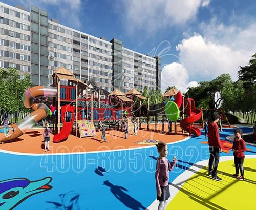 幼儿园户外大型树屋 儿童滑梯游乐设施 景区树屋组合滑梯厂家定制XXCC-09
