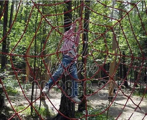 丛林探险 户外丛林穿越景区 拓展游乐设备树上探险丛林项目